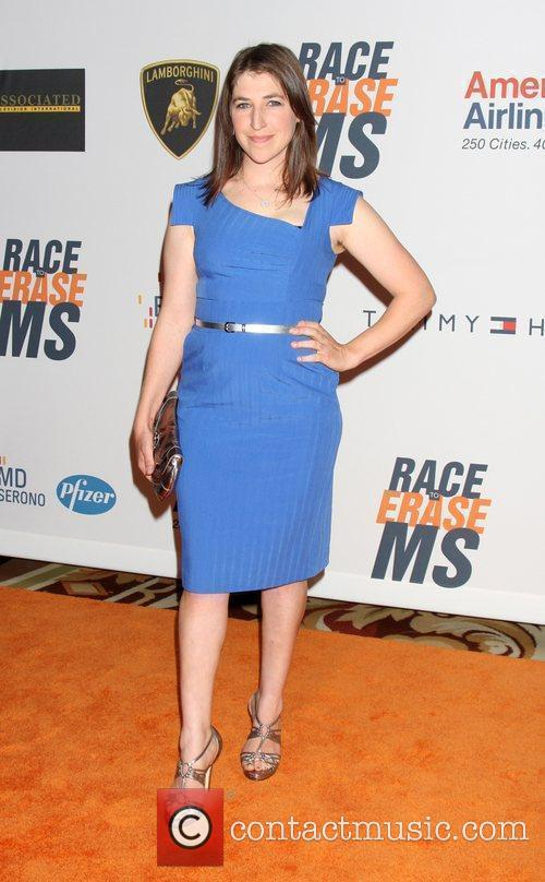 Mayim Bialik The 17th Annual Race To Erase...