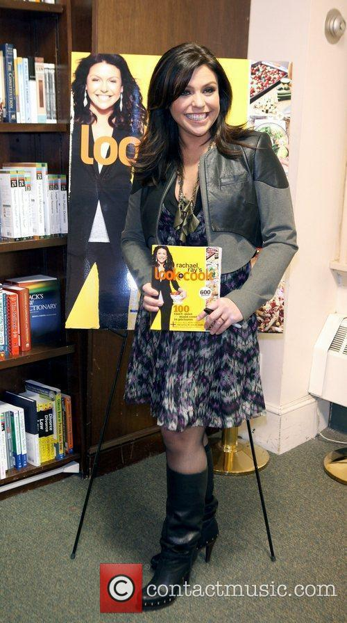 TV personality Rachael Ray promoting her new book...