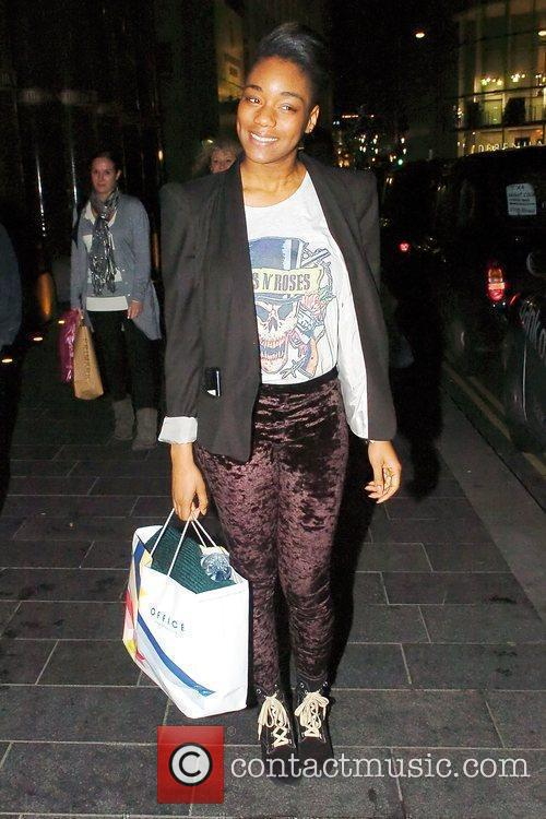 Rachel Adedeji out shopping