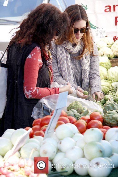 Janice Stango and Rachel Bilson Rachel Bilson shopping...
