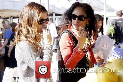 Rachel Bilson and Janice Stango Rachel Bilson shopping...