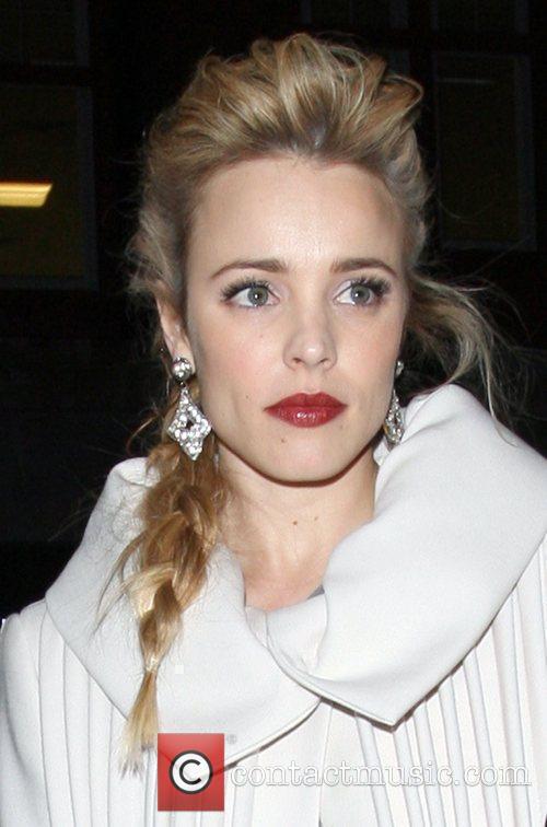 Actress Rachel McAdams arrives at Claridges hotel after...