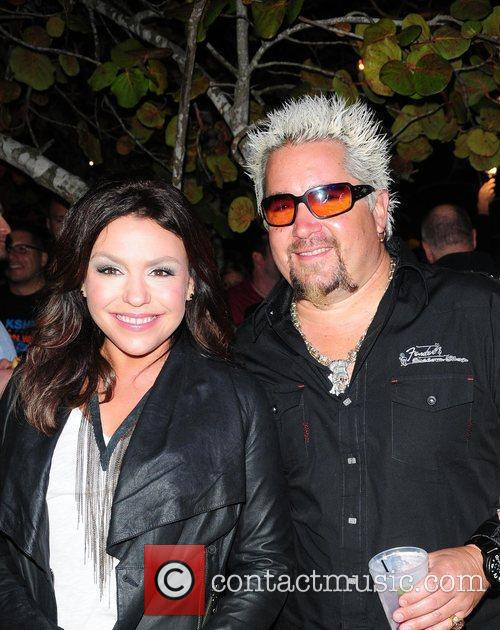 Rachael Ray and Guy Fieri Seven daughter and...