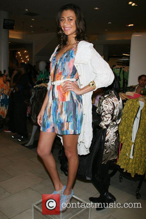 Model Rachel Roy Spring 2010 Collection at Macy's...
