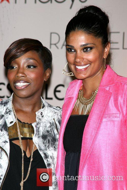 Singer Estelle and designer Rachel Roy  Rachel...