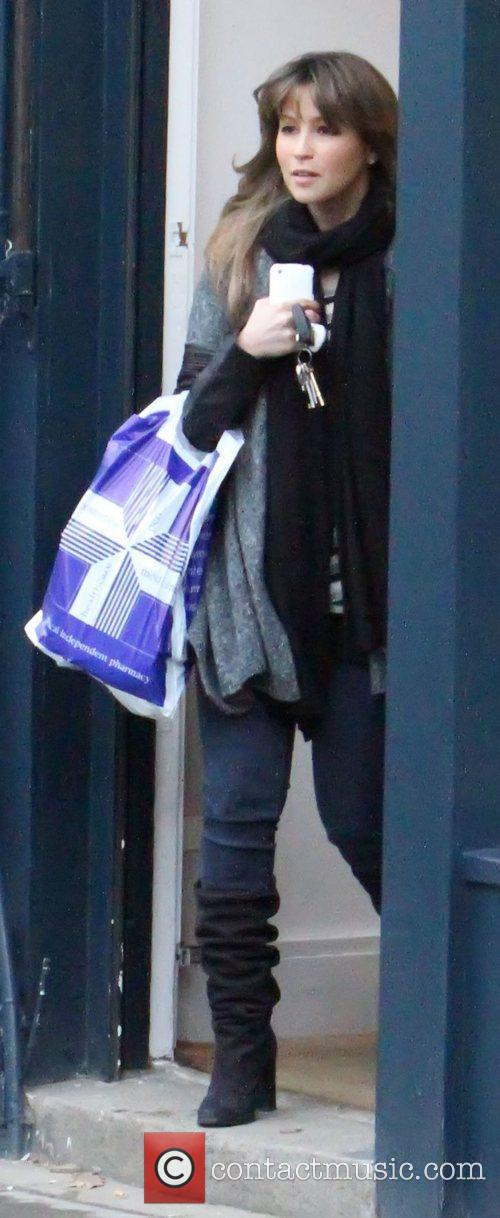 Is all smile as she shops in Primrose...