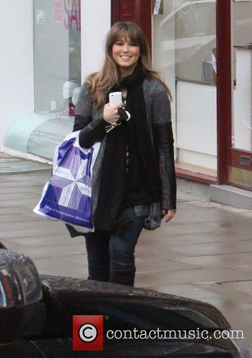 Rachel Stevens is all smile as she shops...