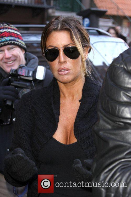 Tiger Woods' alleged mistress Rachel Uchitel is surrounded...