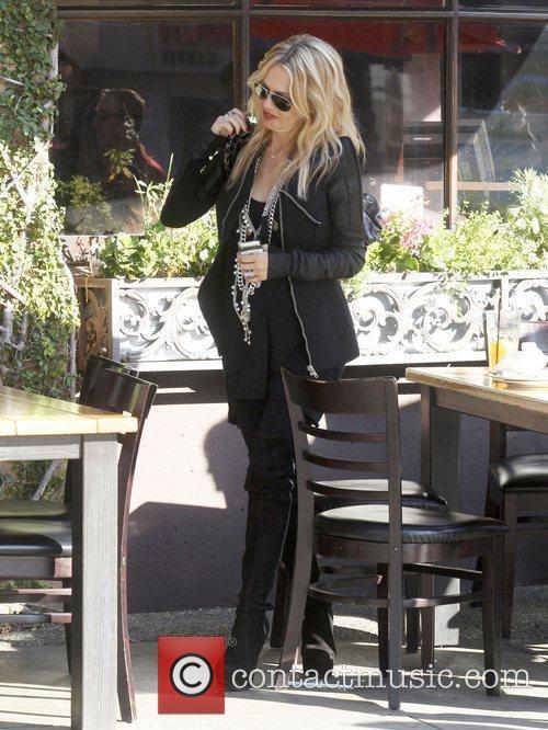 Rachel Zoe was spotted leaving Toast Bakery Cafe...