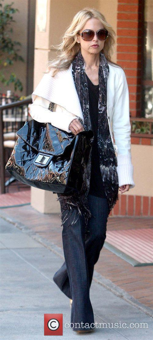 Fashion stylist leaving a medical centre in Beverly...