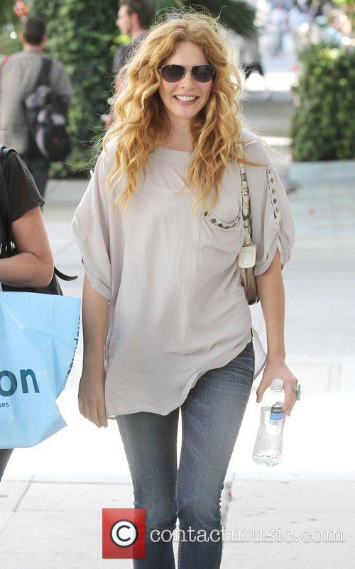 Rachelle Lefevre of Twilight wearing tight jeans and...