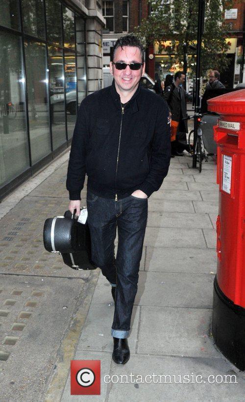 Arriving at the BBC radio2