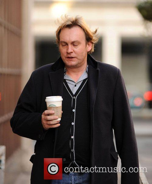 Philip Glenister arriving at the BBC Radio 1...