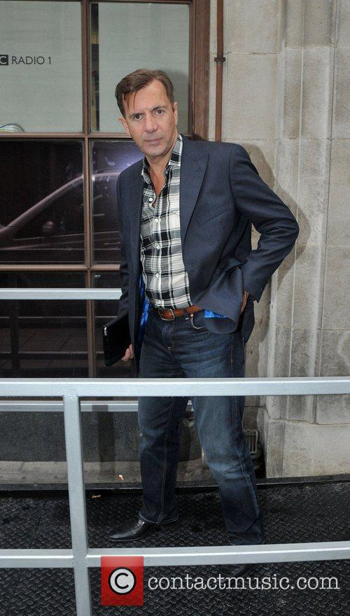 Duncan Bannatyne outside the BBC Radio 1 studios...