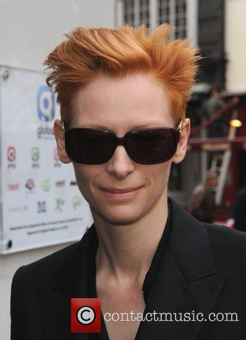 Actress Tilda Swinton and Tilda Swinton 2