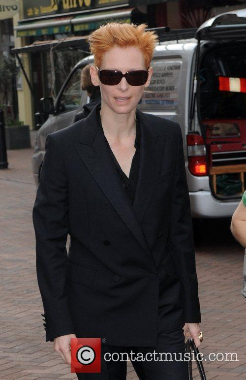 Actress Tilda Swinton and Tilda Swinton 1