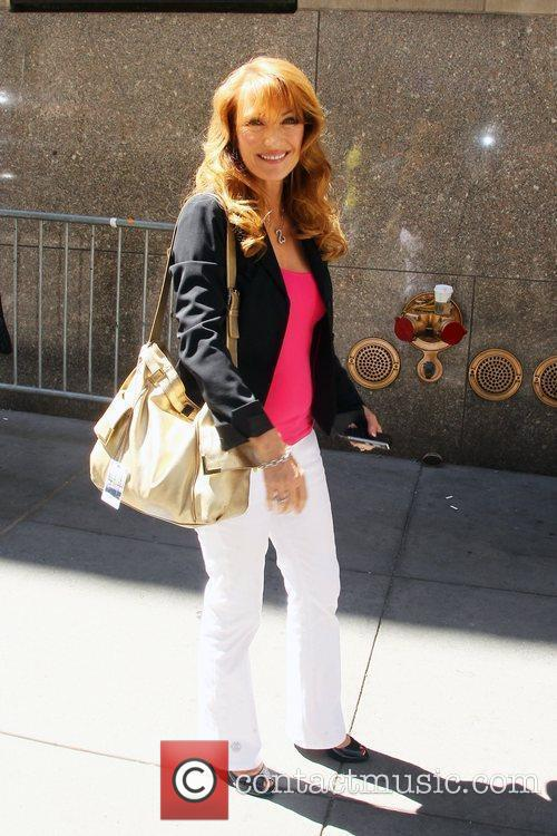Jane Seymour outside Radio City Music Hall after...