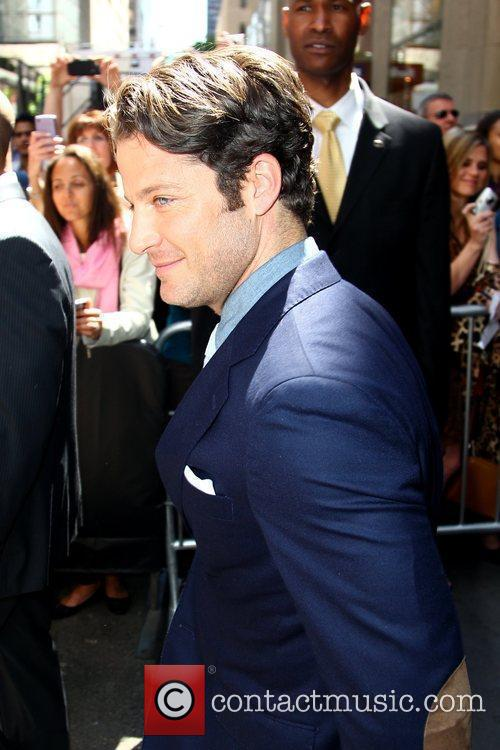 Nate Berkus outside Radio City Music Hall after...