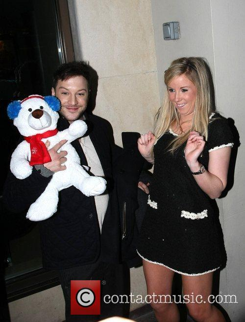 Matt Cardle learns he has the Christmas number...