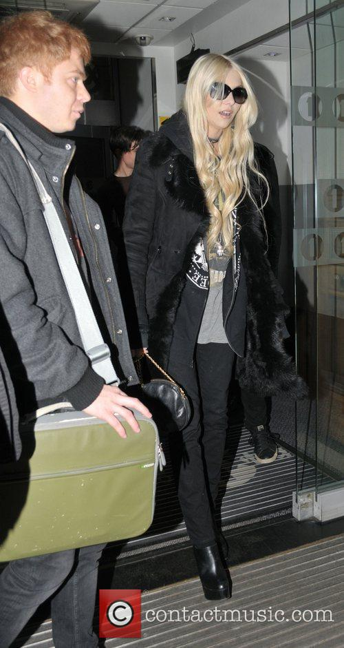 Leaves the BBC Radio 1 studios