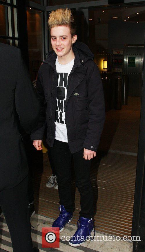 Edward aka Jedward Leaving the BBC Radio 2...