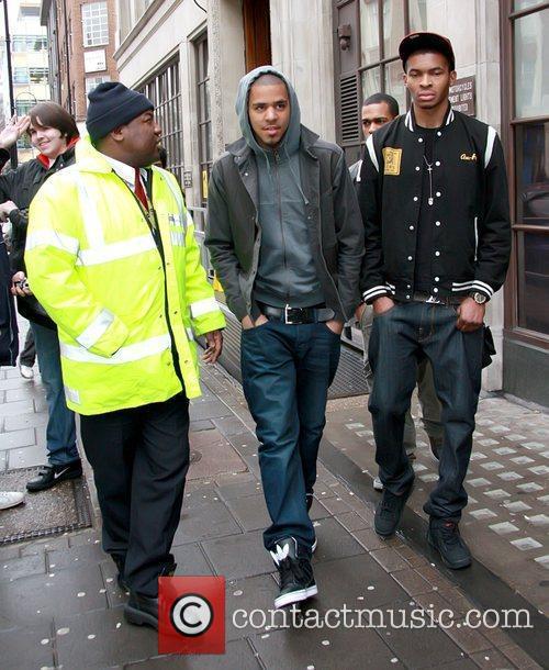 American rapper leaving BBC Radio 1 studios