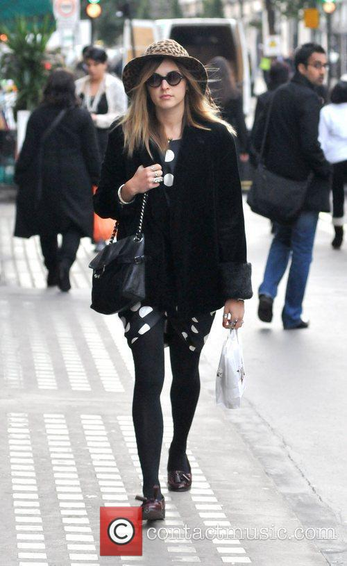 Arriving at the BBC Radio One studios wearing...