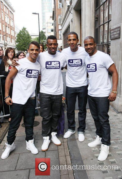 Aston Merrygold, Jls and Jonathan Gill 6