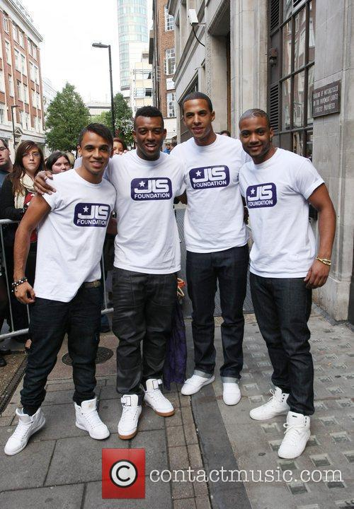 Aston Merrygold, Jls and Jonathan Gill 1