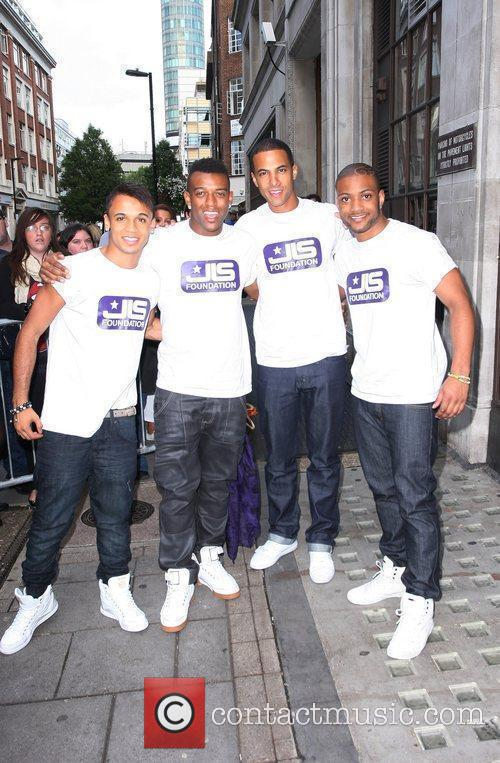 Aston Merrygold, Jls and Jonathan Gill 4