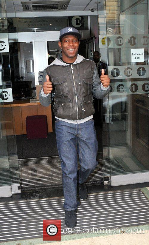 Outside the BBC Radio One studios