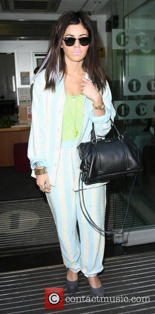 Marina Diamandis of Marina & The Diamonds outside...