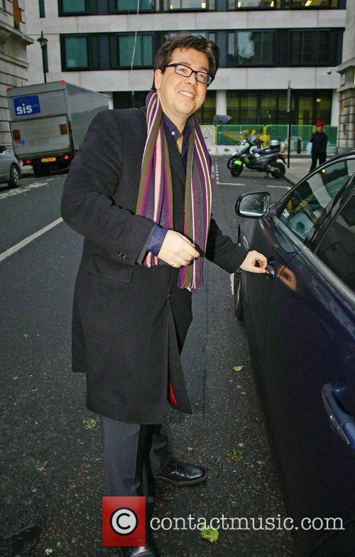 Leaving the BBC Radio 2 studios