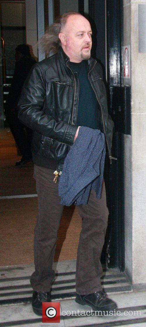 Bill Bailey leaves the BBC Radio 2 studios...