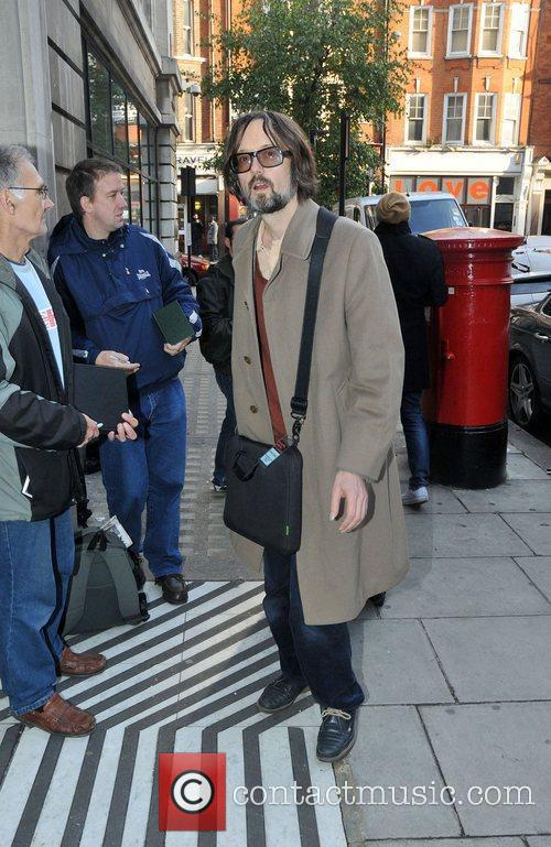 Jarvis Cocker Celebrities outside the BBC Radio Two...