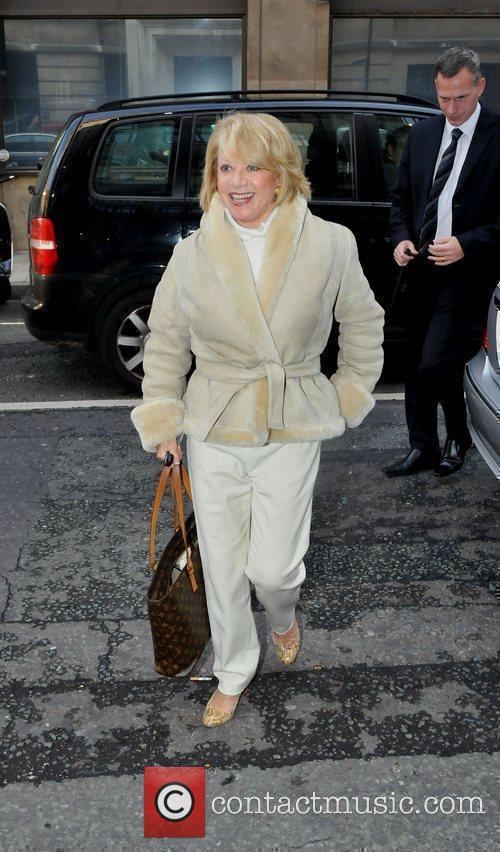 Elaine Paige Celebrities outside the BBC Radio Two...