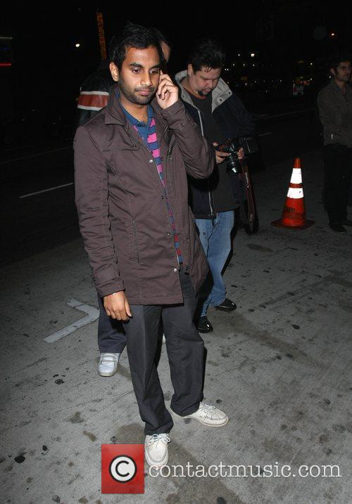 Aziz Ansari and Radiohead 3