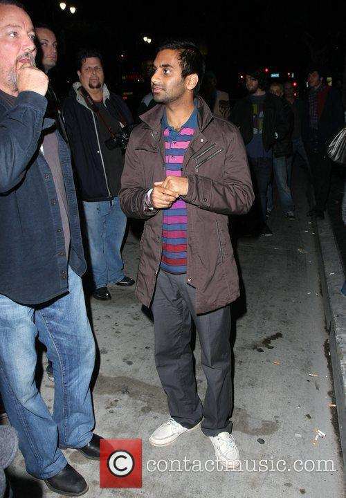 Aziz Ansari and Radiohead 2