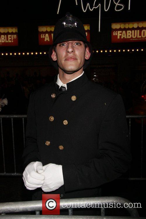 Atmosphere - policeman - at the opening night...