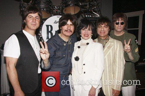 Sir Paul Mccartney, Chita Rivera, George Harrison, John Lennon, Neil Simon and Ringo Starr 4