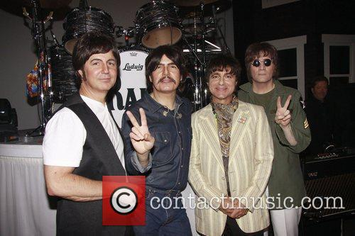 Sir Paul Mccartney, George Harrison, John Lennon, Neil Simon and Ringo Starr 8