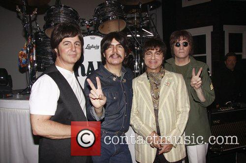 Sir Paul Mccartney, George Harrison, John Lennon, Neil Simon and Ringo Starr 9