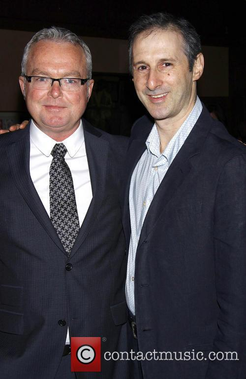 Andrew Bovell and Richard Topol attending the opening...