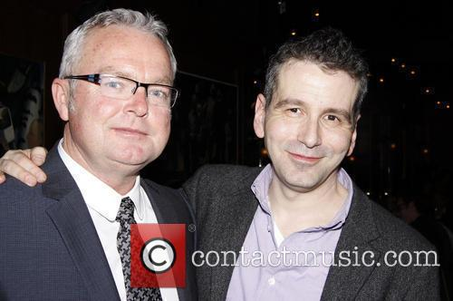 Andrew Bovell and David Cromer attending the opening...