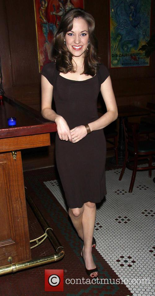 Laura Osnes attending the opening night party for...