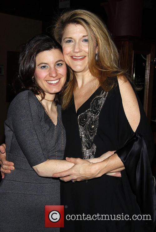 Susan Pourfar and Victoria Clark attending the opening...
