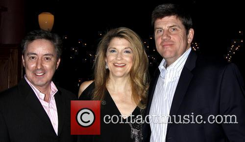 Victoria Clark and Rod McLachlan attending the opening...