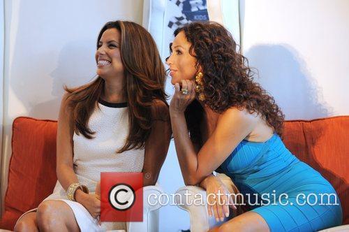 Eva Longoria and Sofia Milos 6