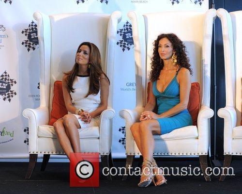 Eva Longoria and Sofia Milos 11
