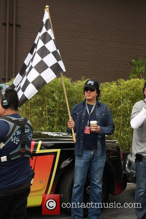Gene Simmons at the 'Rally for Kids with...